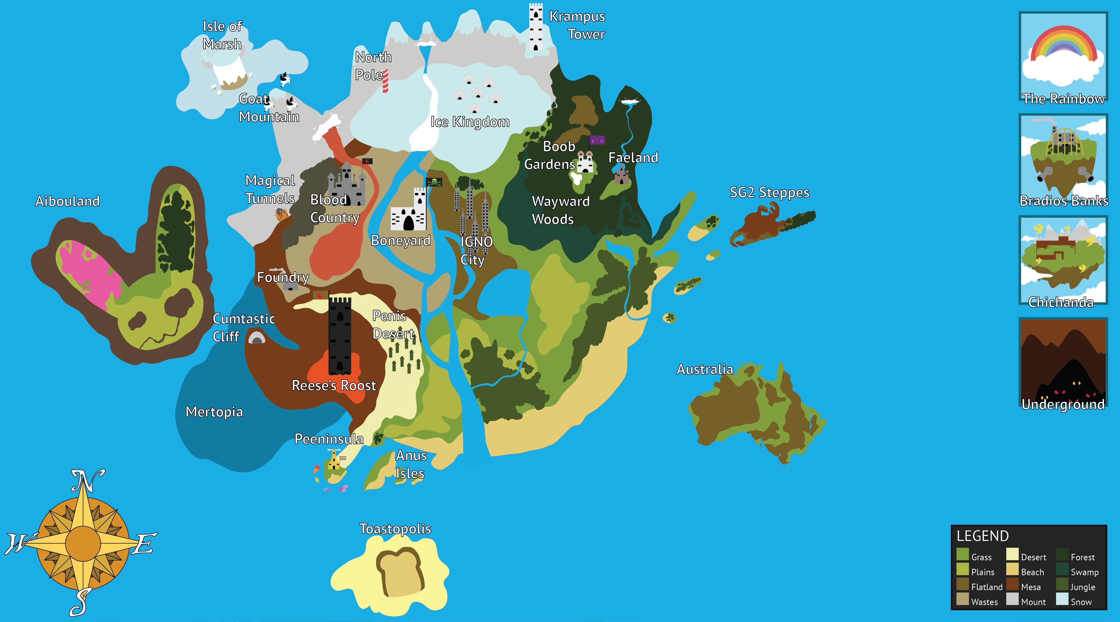 IGNOLand Map
