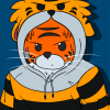 SG2 wearing an SG2 Tiger Suit.